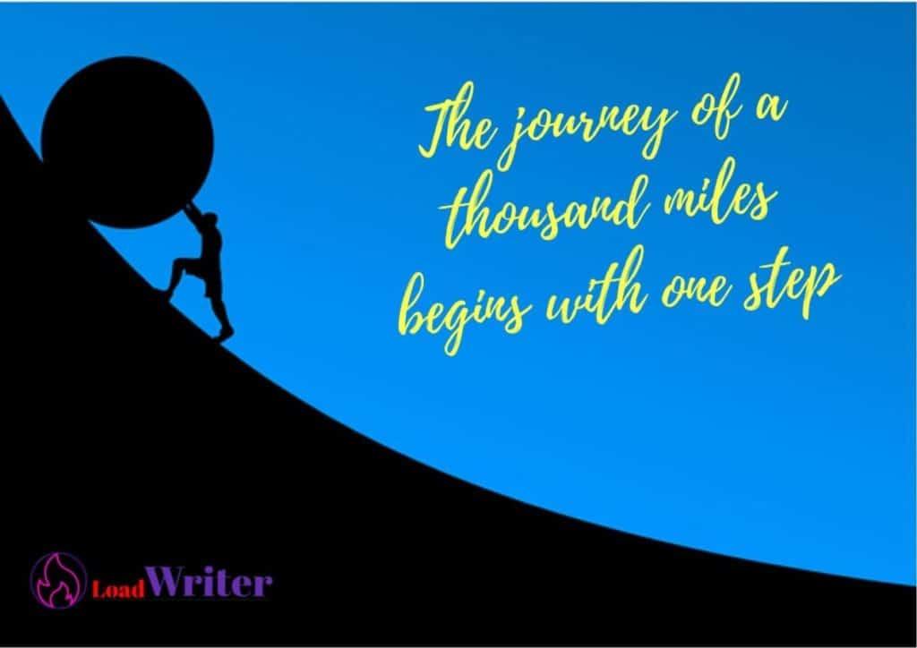life journey motivation quote