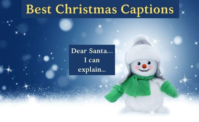 best christmas captions