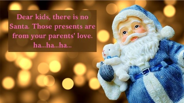 santa christmas captions