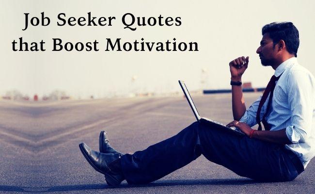 job seeker quotes